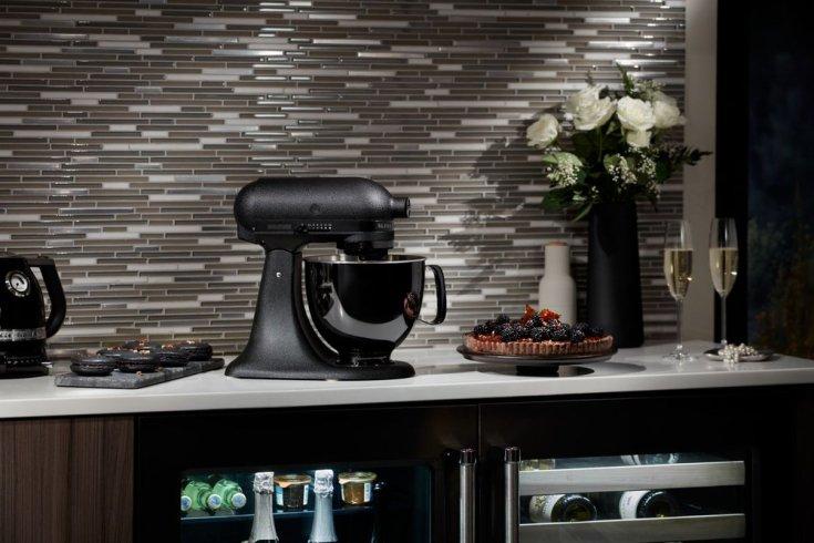 All Black KitchenAid Mixer - Spring Appliance Trends