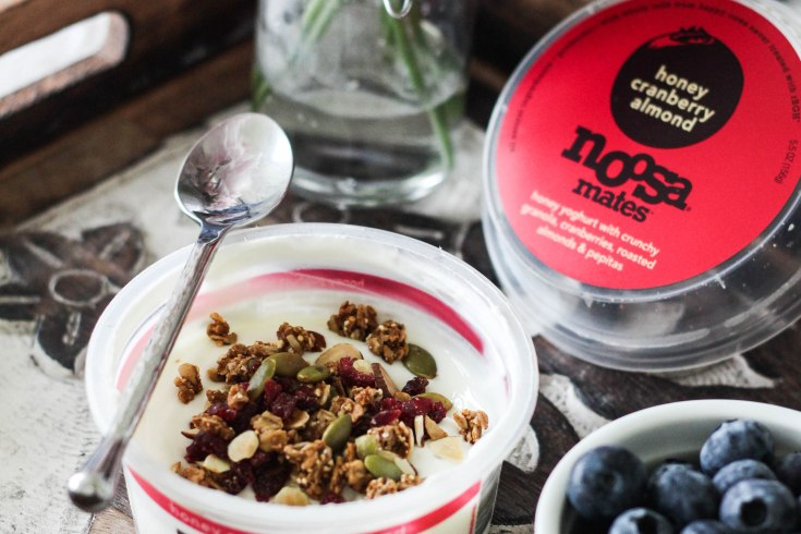 noosa mates yoghurt honey cranberry almond - Noosa Mates