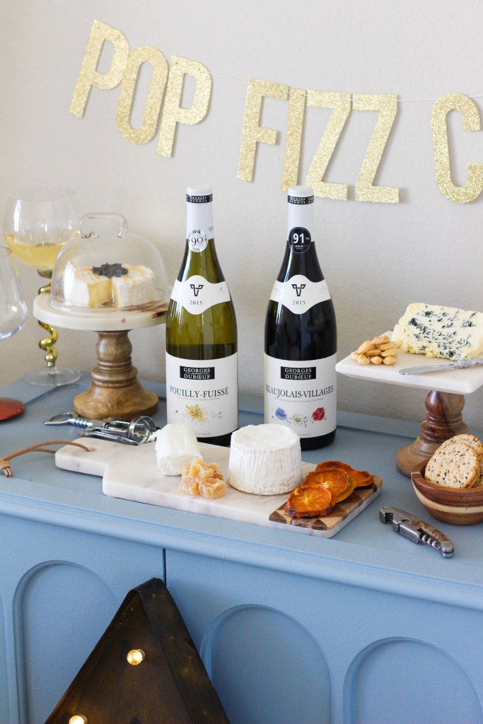 French, New Year's Eve Party, Wine, Cheese