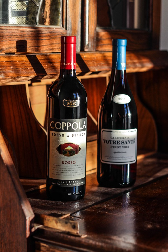 books & bottles, francis ford coppola winery, book club
