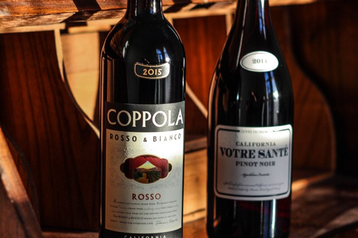 Coppola Wine Books Bottles 3 - Books & Bottles: Coppola Winery Book Club