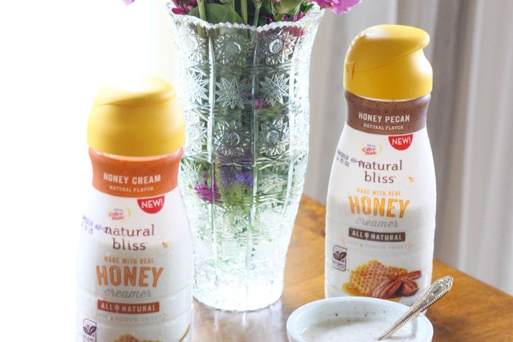 Honey Pecan Drizzle, Recipe, Coffee-mate, natural bliss