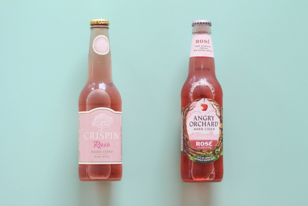 Rosé Cider, Crispin, Angry Orchard
