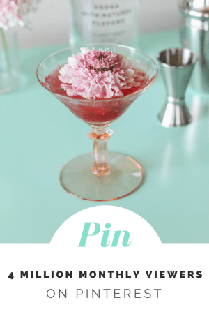 Pin 1 - Sip Revisited: The Pomegranate Kiss Cocktail