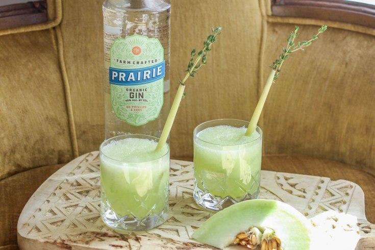 Honeydew Gin Fizz with Prairie Organic Spirits
