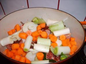 carottes et poireaux