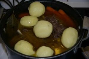 ajouter pommes de terre