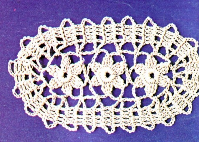 photo motif ovale flerus