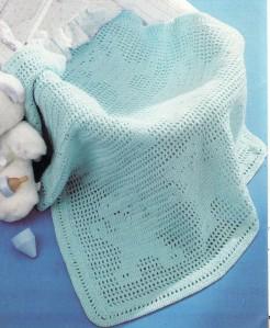 couverture azur oursons