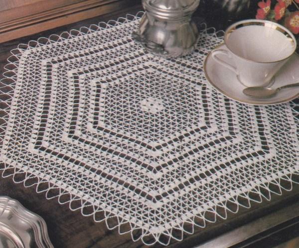 napperon hexa