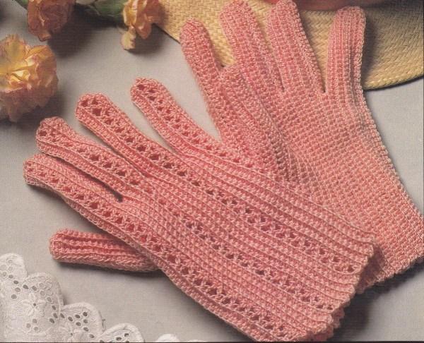 gants roses