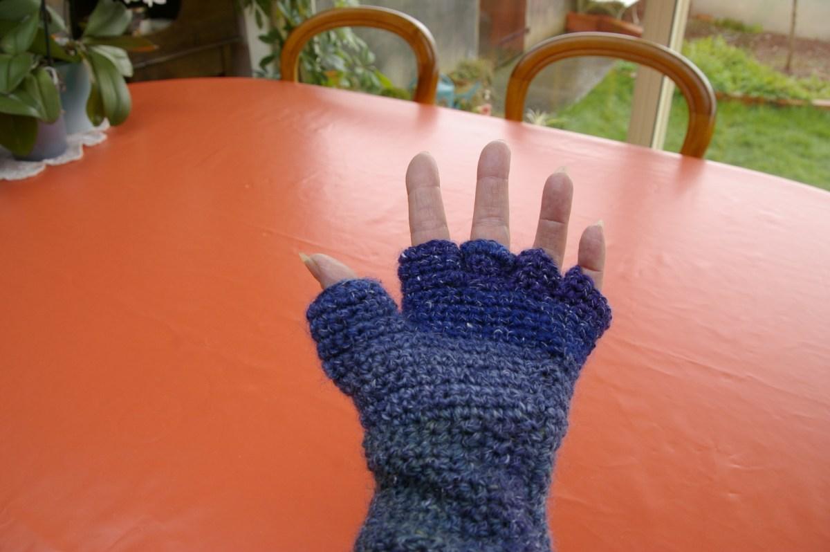 Paume main gauche.
