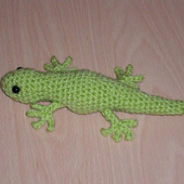 Gecko pattern by Ellie Skene