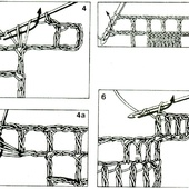 COURS ET LECONS DE CROCHET : le filet - Le blog de crochet et tricot d'art de Suzelle