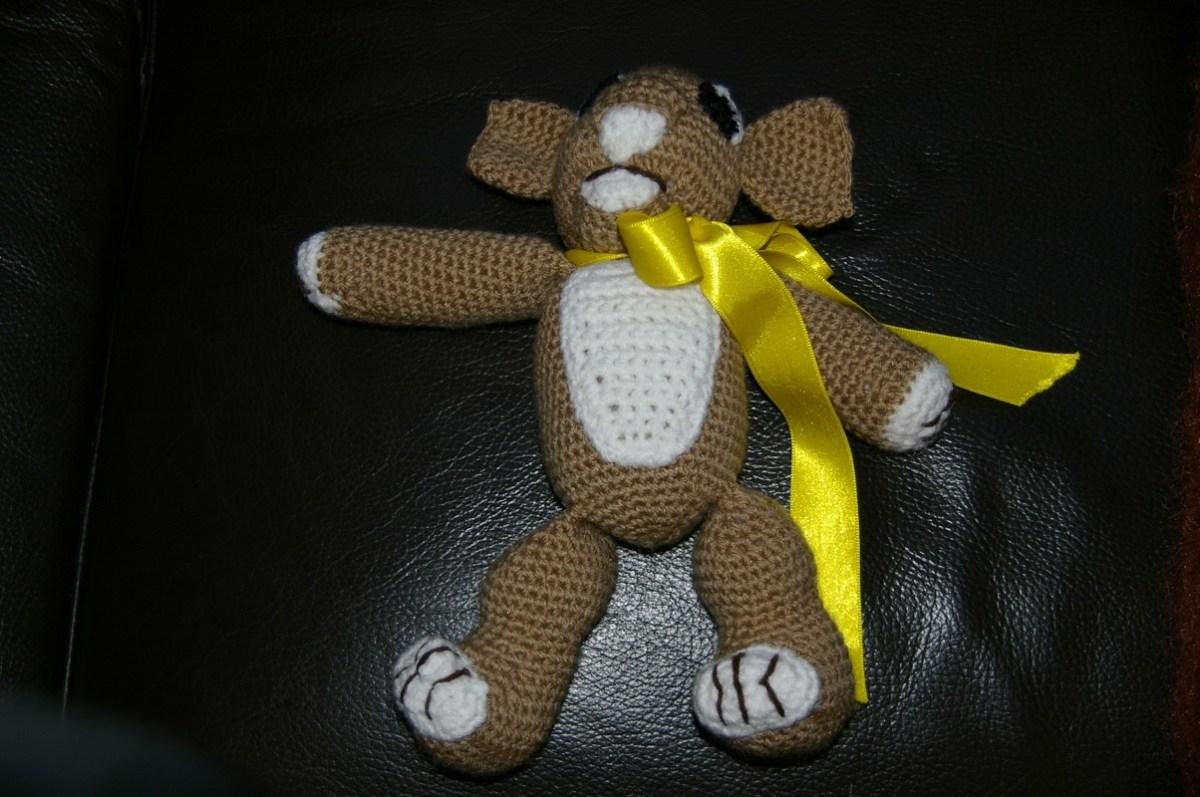 CROCHET : doudou Petit Lion TUTORIEL GRATUIT