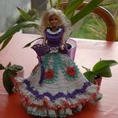 CROCHET : robe de princesse espagnole pour Barbie TUTORIEL GRATUIT - Le blog de crochet et tricot d'art de Suzelle