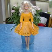 CROCHET : robe vintage pour poupée Barbie AVEC TUTO - Le blog de crochet et tricot d'art de Suzelle