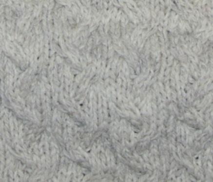 TRICOT : cardigan point d'ondes en laine naturelle TUTORIEL GRATUIT