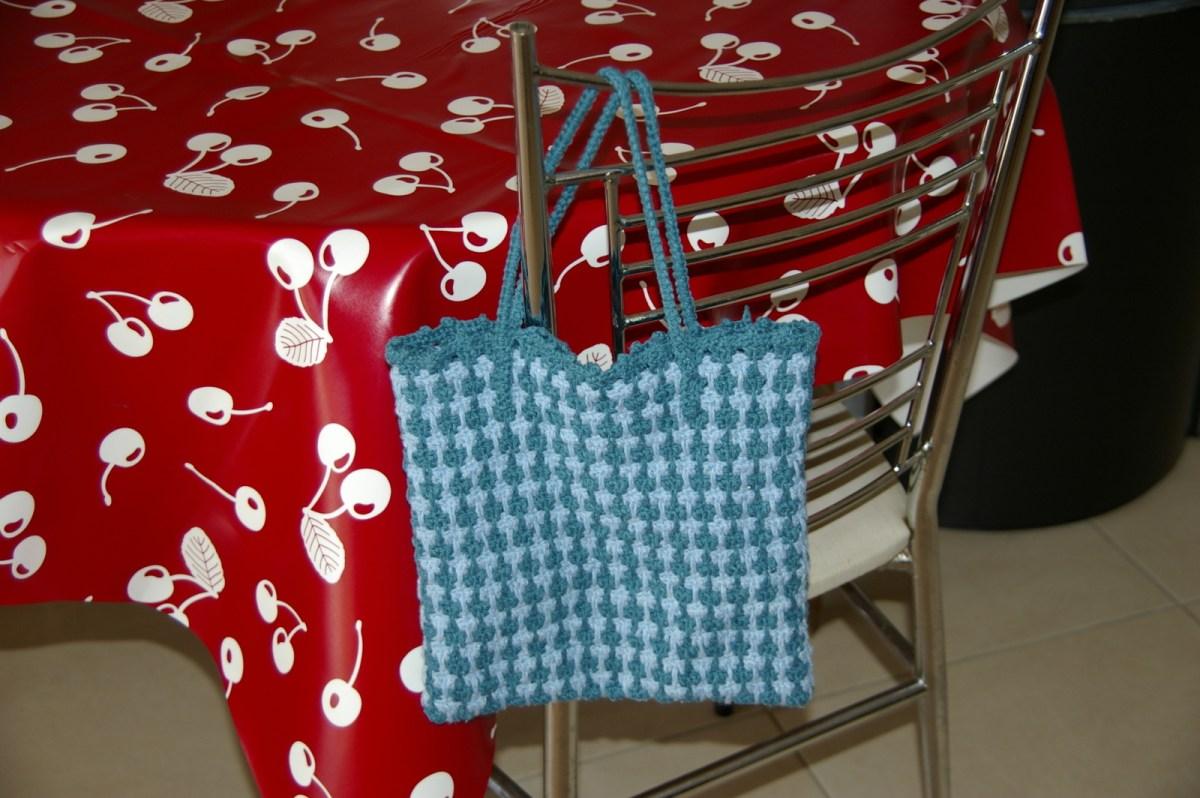 Petit sac 2 bleus