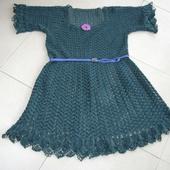 CROCHET : robe évasée Vert cyprès TUTORIEL GRATUIT - Le blog de crochet et tricot d'art de Suzelle