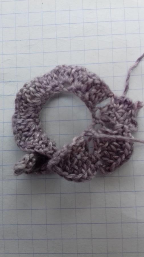 La bande crochetée avant couture