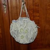 CROCHET : sac boule vert d'eau avec perles - Le blog de crochet et tricot d'art de Suzelle