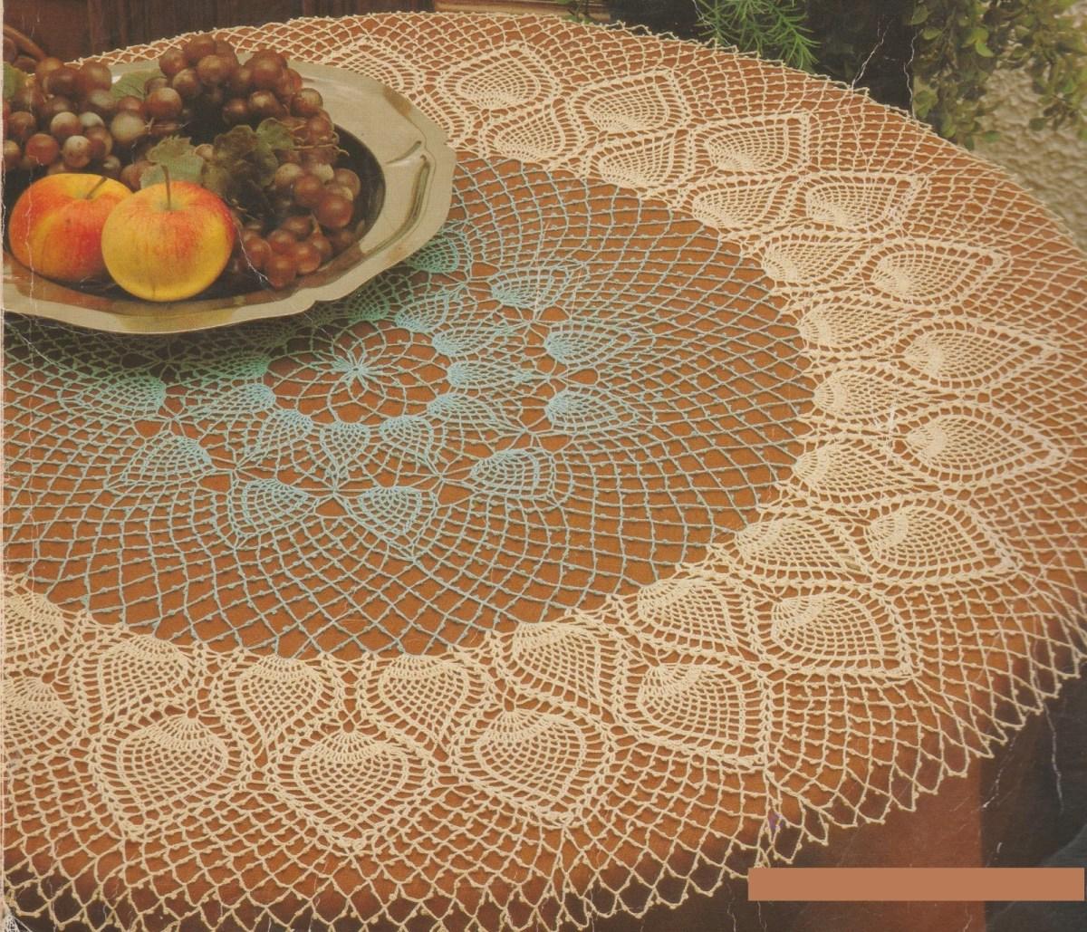 CROCHET : tapis de table NARCISSE tutoriel gratuit