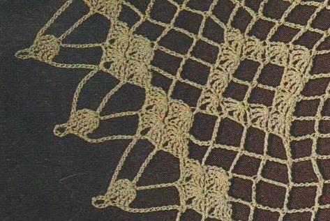 Un motif cubique et la bordure