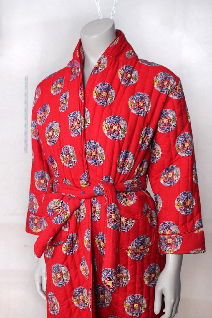 Rode kimono  vintage kamerjas  Froufrous