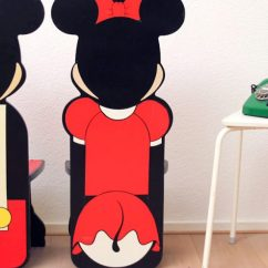 Minnie Mouse Chairs For Kids Wooden Rocking Chair Glider 90s Mickey En Stoelen - Froufrou's