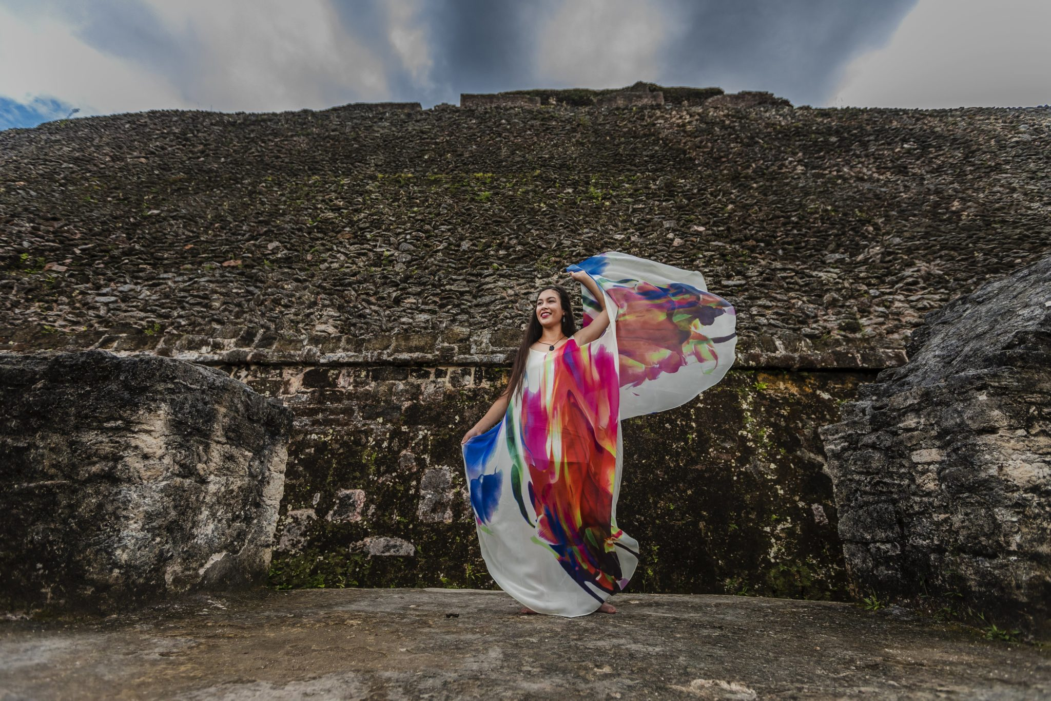 Xunantunich Senior Photo Shoot