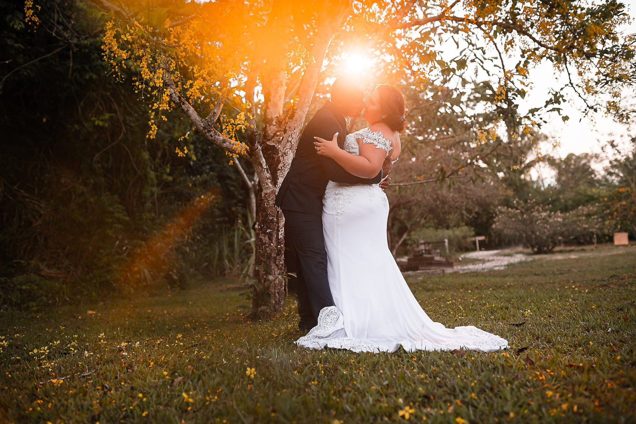 Rondell + Lily (Garden wedding in Belmopan)