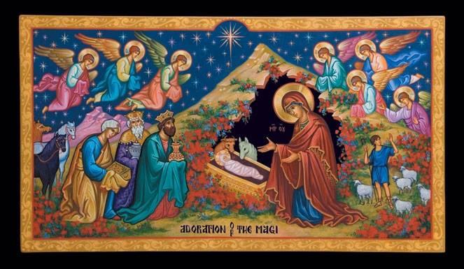 Christ is Born! Glorify Him! – Rev. Peter M Preble