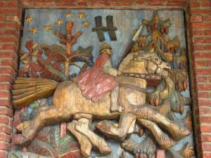 Odin op zijn paard Sleipnir