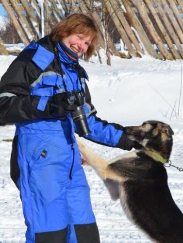 Als het noodzakelijk is voor de excursie, krijg je een thermopak te leen. Foto: Fru Amundsen ©