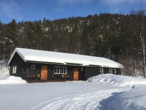Gargia fjellstue, Finnmark, Noorwegen, Fru Amundsen
