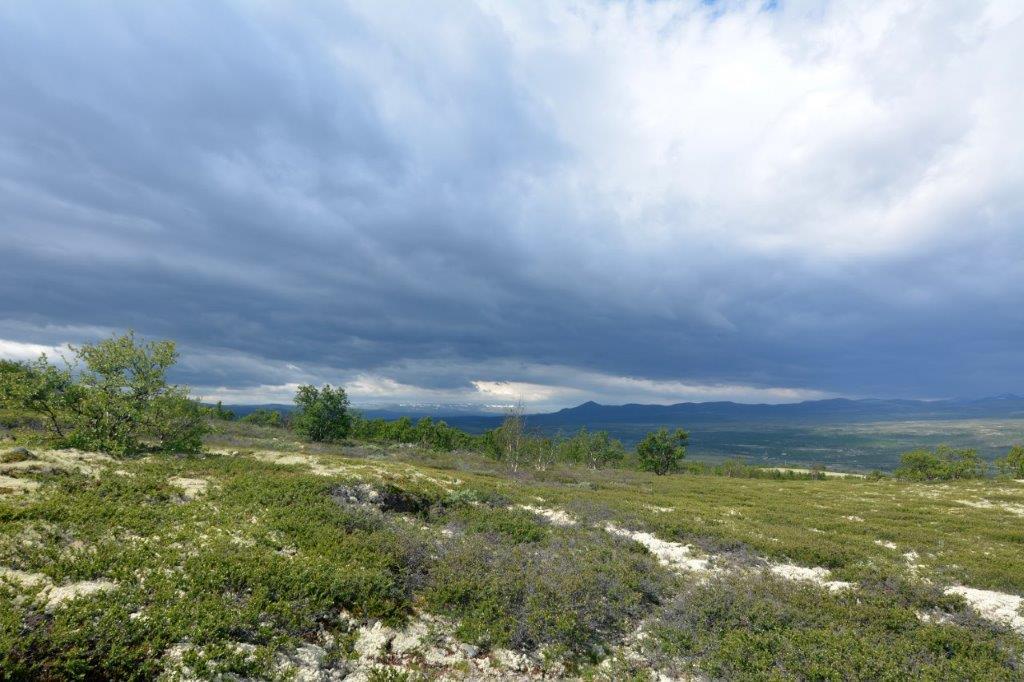 Wolken boven Dovrefjell Foto: Marian Dikken©