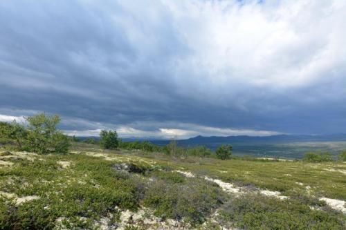 Wolken boven Dovrefjell Foto: Marian Dikken© pelgrimswandeling