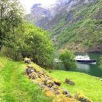 Proef de lente Nærøyfjord