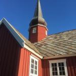 Noorderlichtreis Lofoten kerk van Flakstad