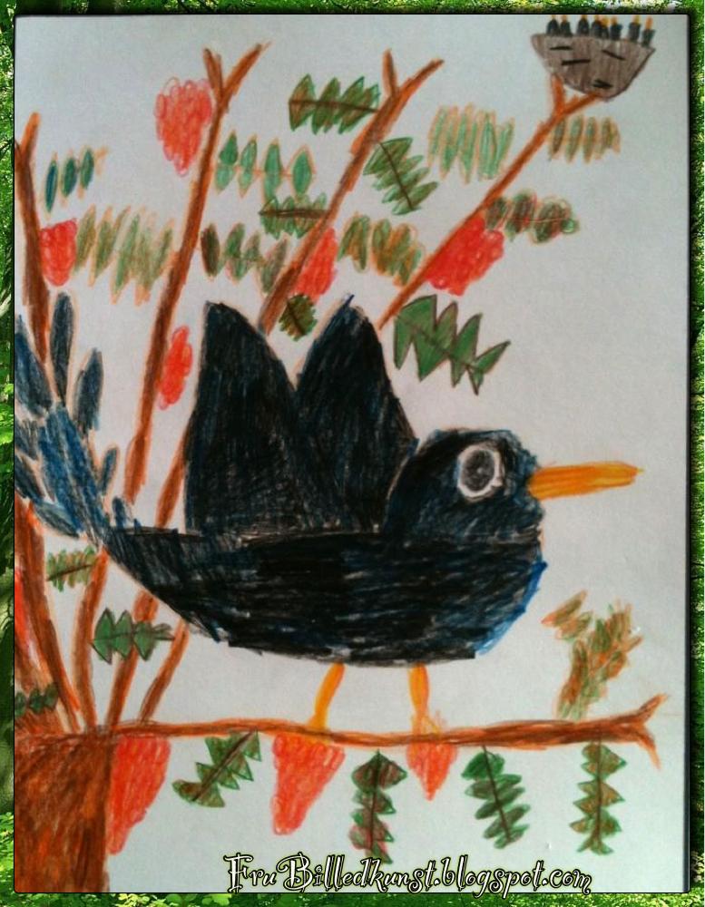 Hvordan lærer man at tegne? (Del 4) - Den første fugl