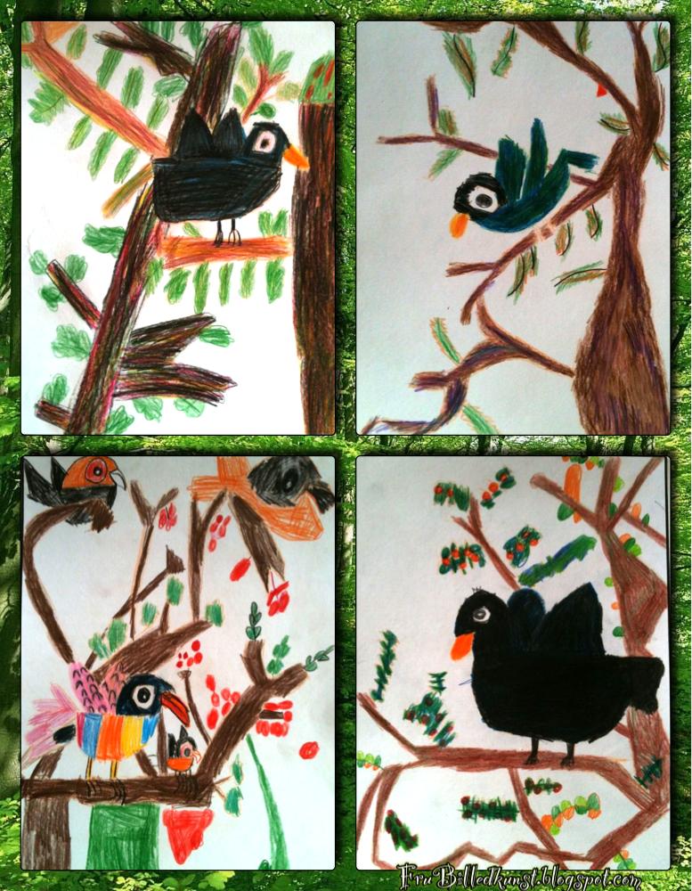 FruBilledkunst - Første fugle 2
