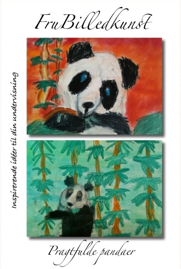 Pragtfulde pandaer