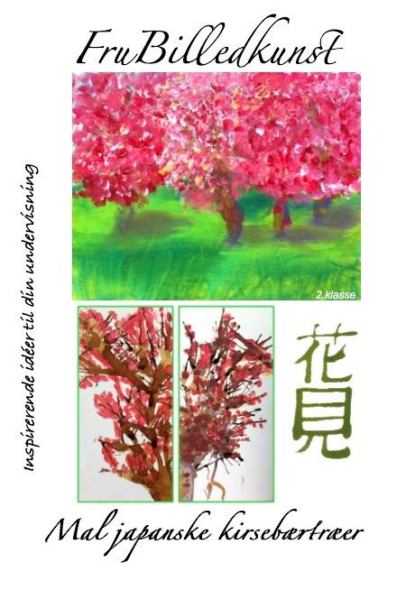 mal japanske kirsebærtræer - forside