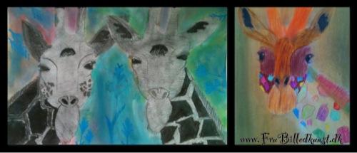 FruBilledkunst - giraf - 10 og 14 årige