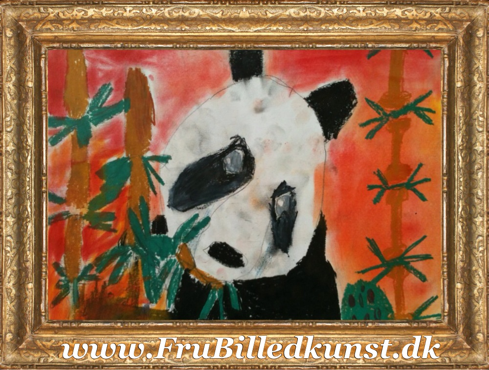 FruBilledkunst - panda - 1kl (3)