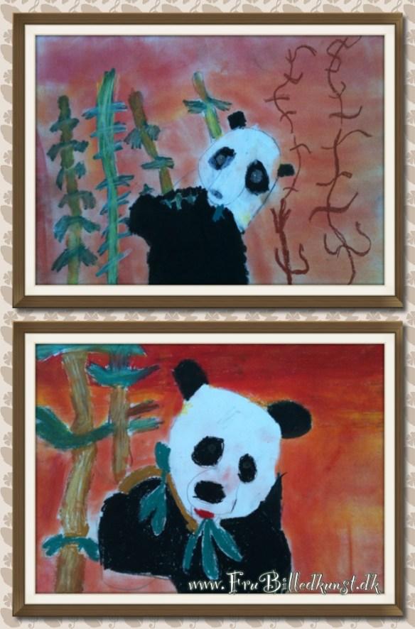 FruBilledkunst - panda 1kl