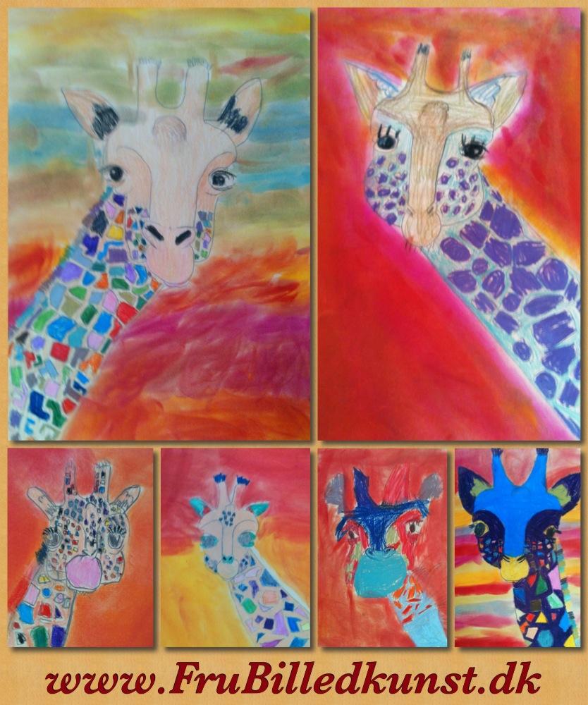 www.FruBilledkunst.dk - giraffer - 2kl (2)