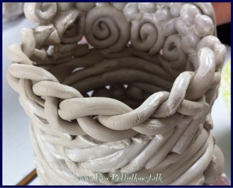 www.FruBilledkunst.dk - crazy coil pot
