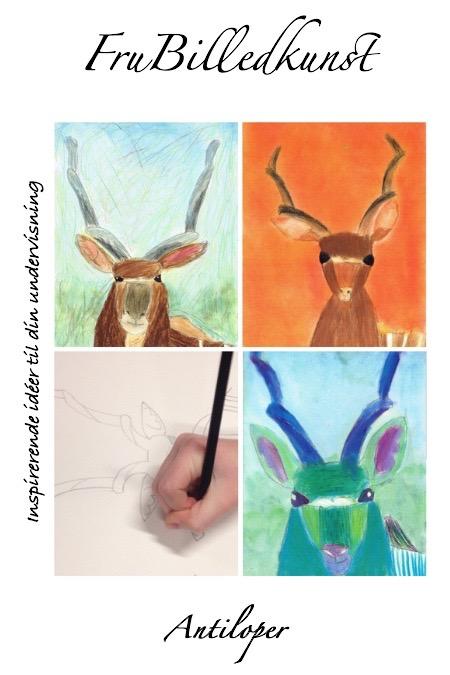 Undervisningsforløb i billedkunst. Den smukke kudu-antilope er et fantastisk motiv. Med hæftet bliver du guidet gennem hele forløbet, og du får tips til at dreje projektet i enten en naturalistisk eller en mere koloristisk retning. Der er noter til guidet tegning og et galleri af elevtegninger. Til sidst er der en selvstændig kopidel - lige til at bruge i din undervisning.Hæftet er også velegnet for børn og voksne begyndere til selvstudium. 36 sider - PDFformat